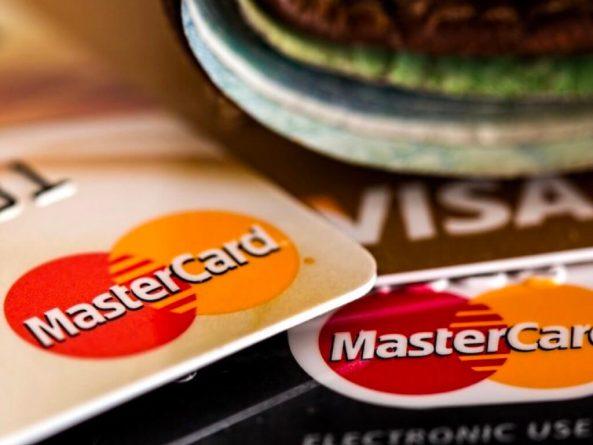 クレジットカードの写真。